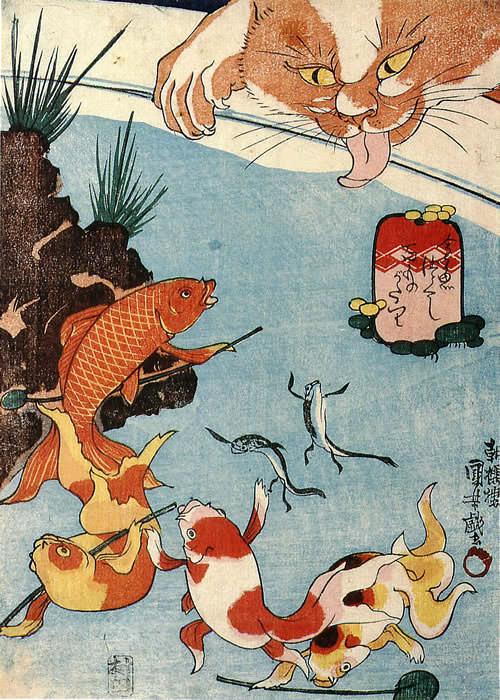 金魚づくし 百物語