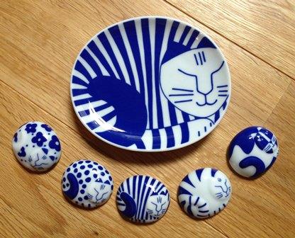 豆皿+箸置き